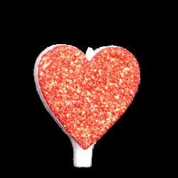 Szív - Narancssárga