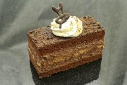 Tejszínes csoki szelet